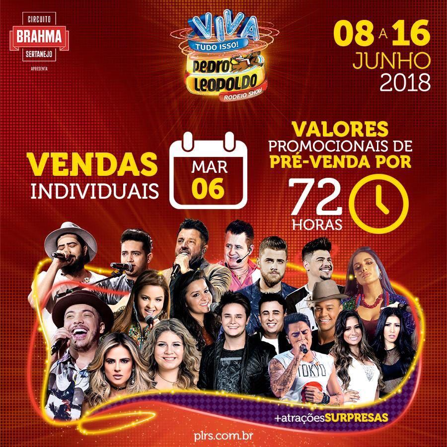 Circuito Rodeio 2018 : Pedro leopoldo rodeio show vendas de ingresso fm sucesso