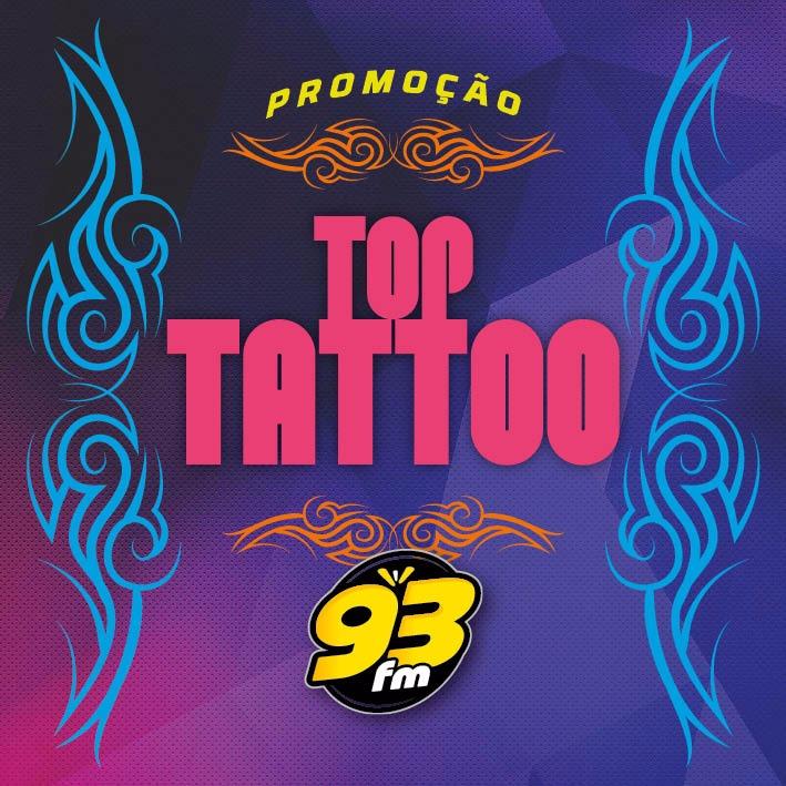 PROMOÇÃO TOP TATOO