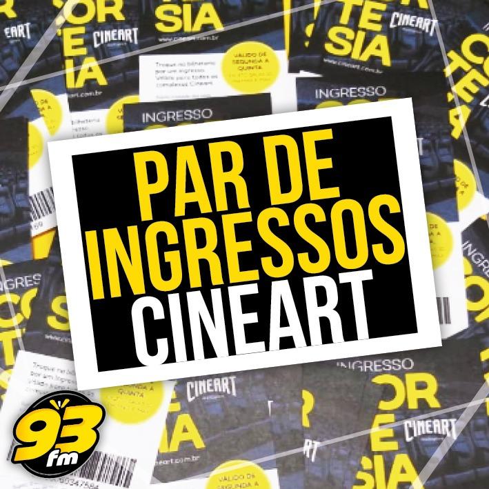 Promoção Par de ingressos Cineart