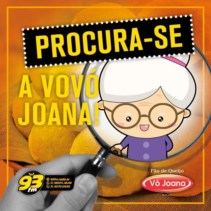 EM BUSCA DA VOVÓ JOANA!