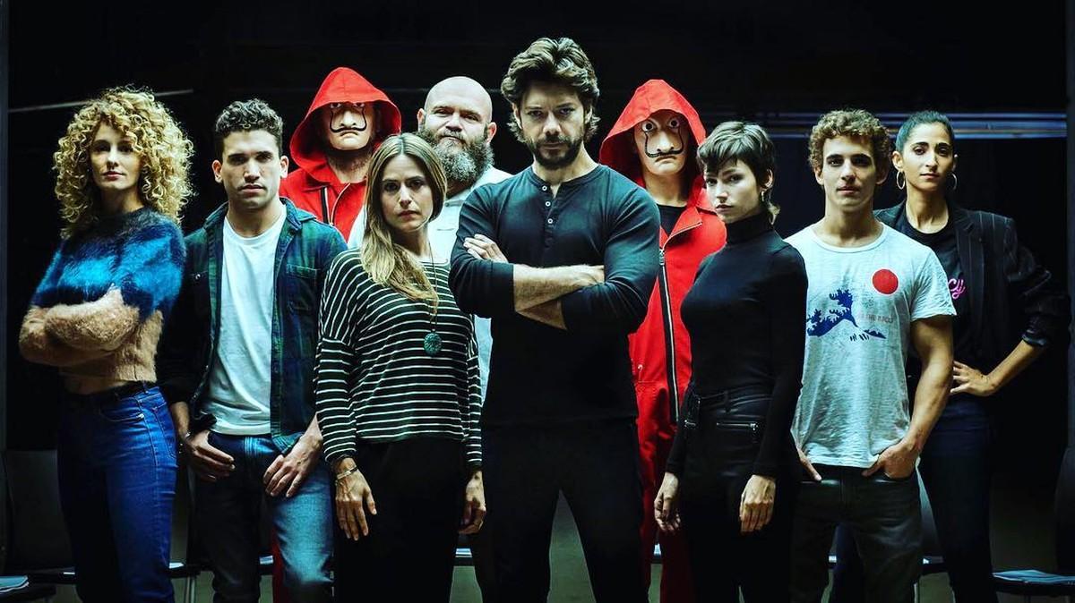 """Lançada a 3° temporada de """"La Casa de Papel"""""""