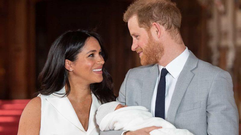 Bebê de Harry e Meghan será batizado