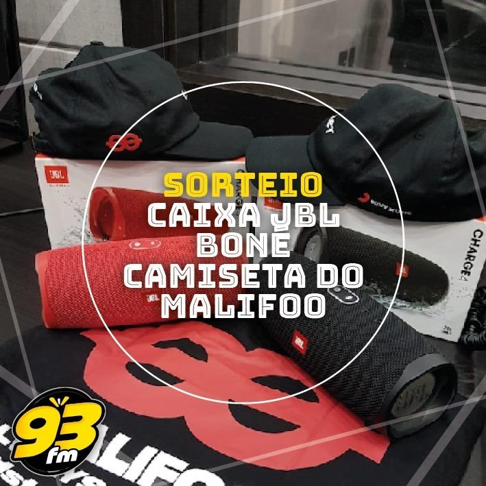 Mês do Maliffoo na 93 FM, e tem promoção sim!