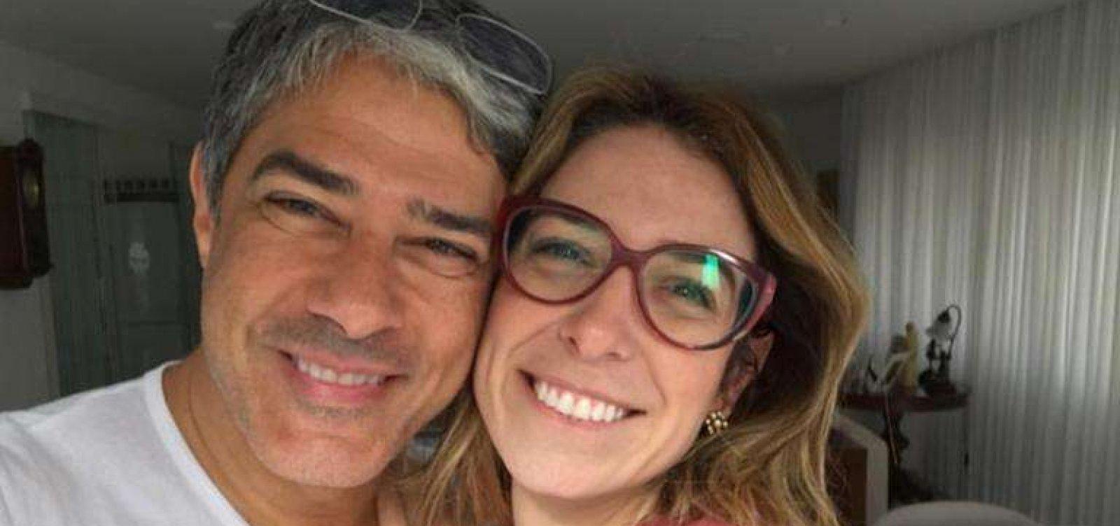 William Bonner e esposa adotam pets de ONG