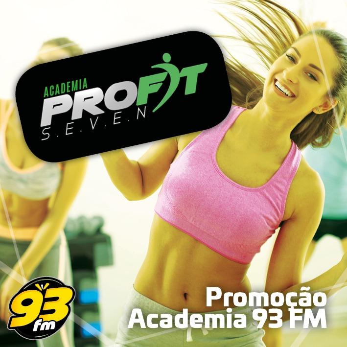 PROMOCÃO ACADEMIA 93 FM