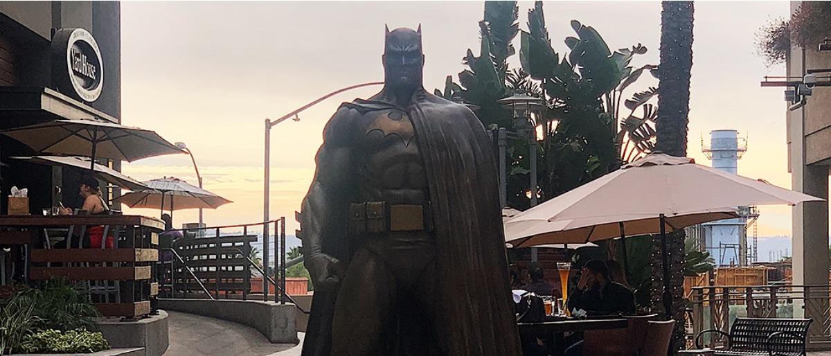 Estátua do Batman na Califórnia!