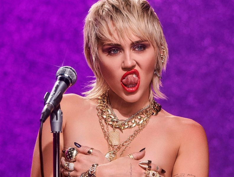 Clipe novo de Miley Cyrus?