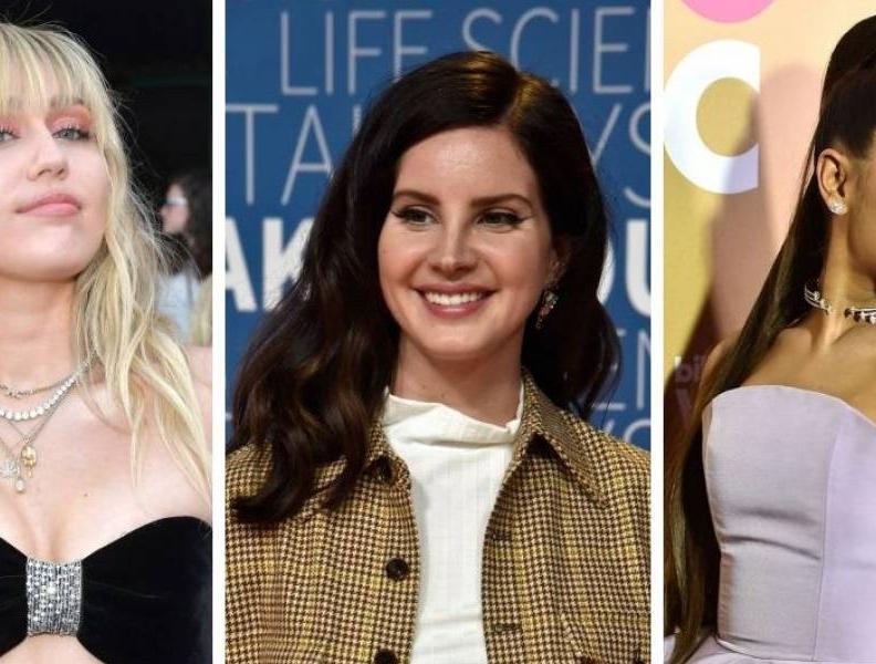 Miley Cyrus, Lana Del Rey e Ariana Grande juntas!