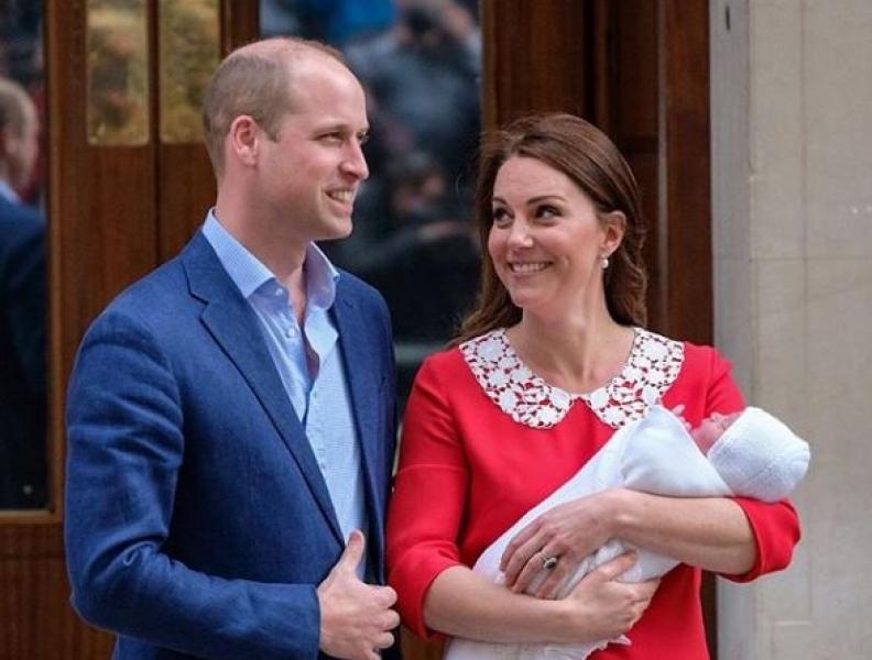 Família real anuncia data e lugar do batizado do príncipe Louis