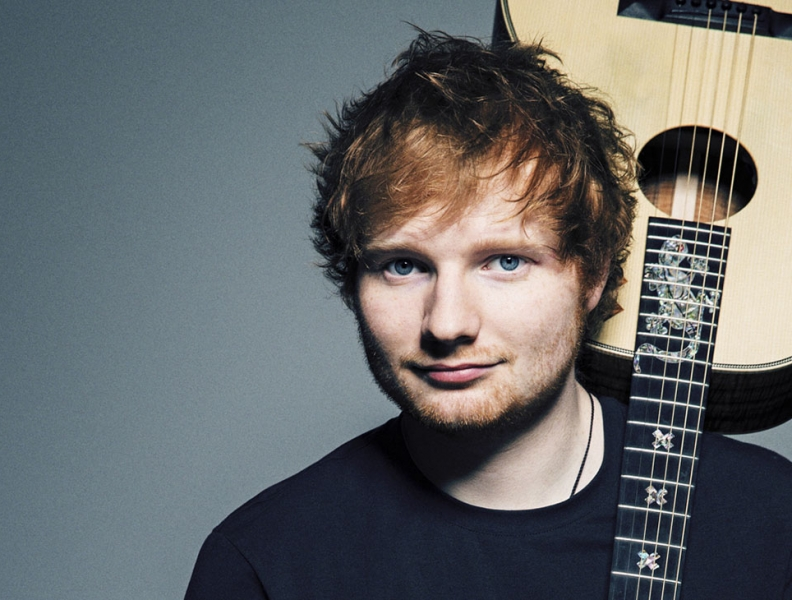Ed Sheeran quebra recorde na Billboard