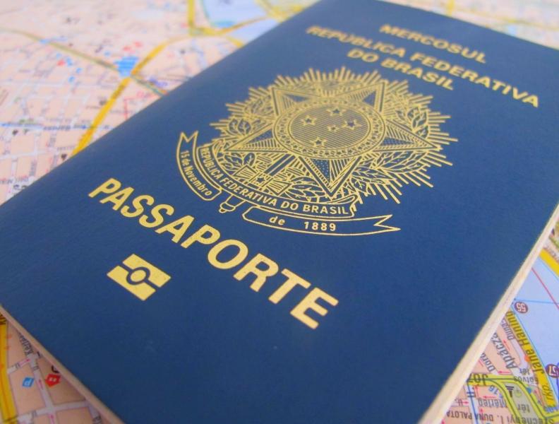 Emissão de passaportes suspensa