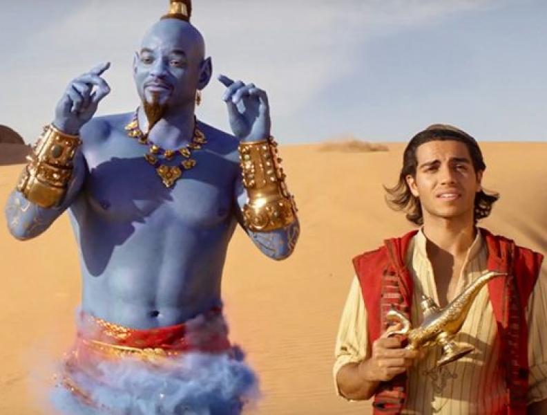 Aladdin ultrapassa U$ 400 milhões em bilheteria