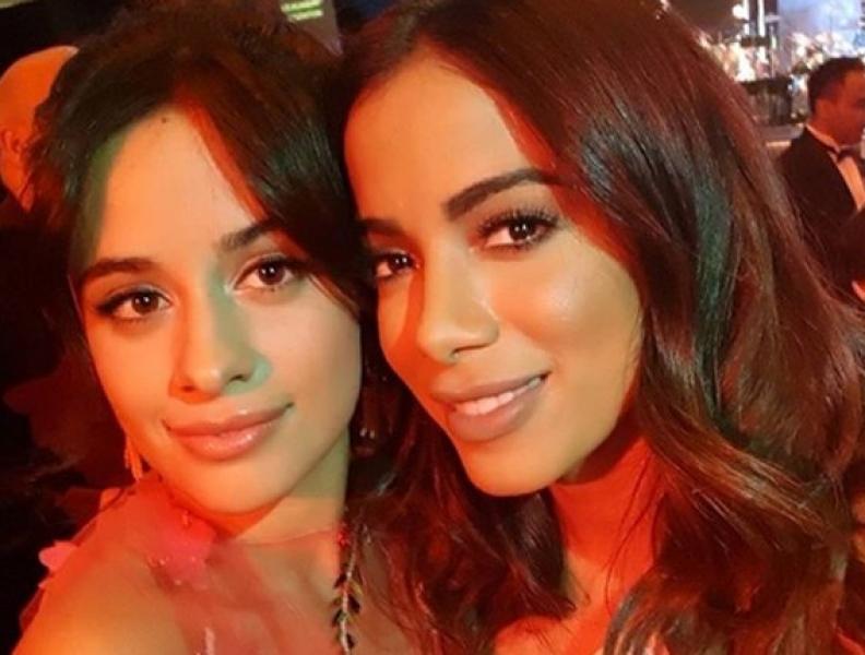 """Camila Cabello e Anitta: tem """"feat"""" vindo por aí?"""
