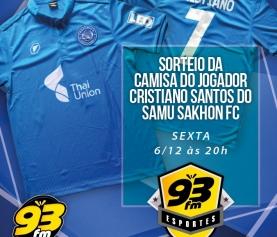 Sorteio 93FM Esportes
