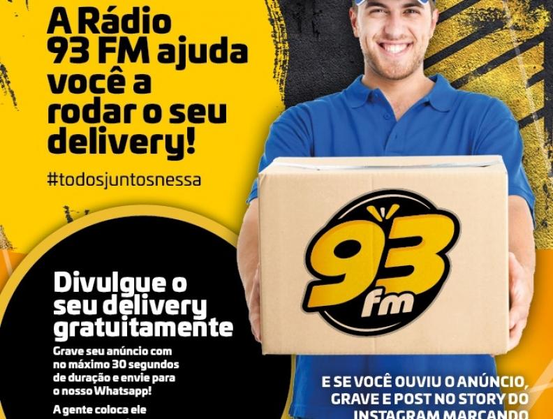 Ajudamos a rodar seu delivery!