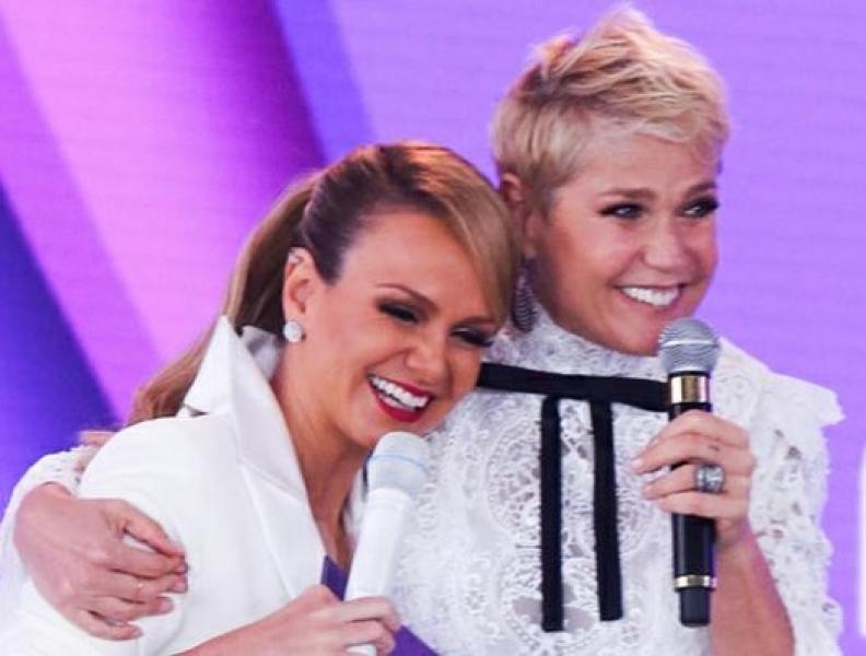 Eliana e Xuxa fazem brincadeira na web
