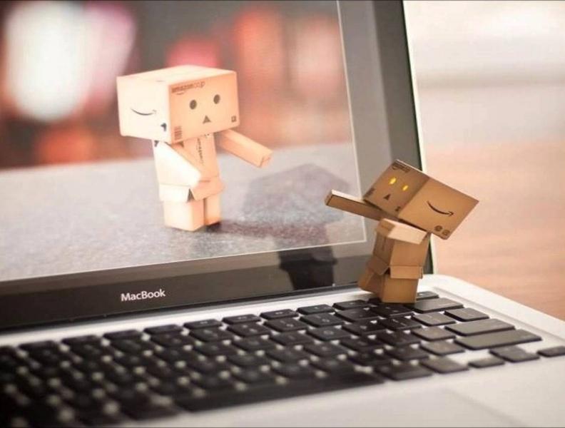 O relacionamento com amizades virtuais