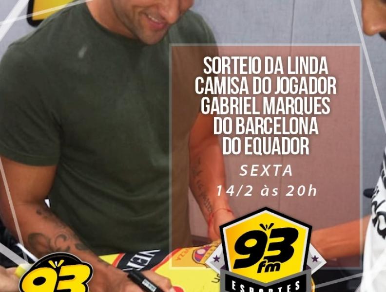 Promoção 93FM Esporte