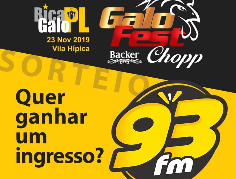 PROMOÇÃO  GALO FEST