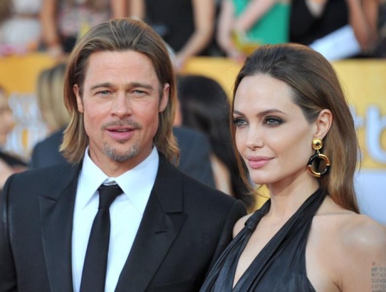 Angelina Jolie e Brad Pitt têm encontro secreto