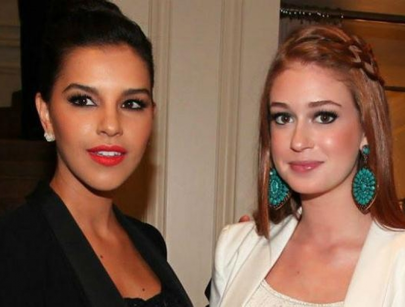 Marina Ruy Barbosa e Mariana Rios se evitam em festa
