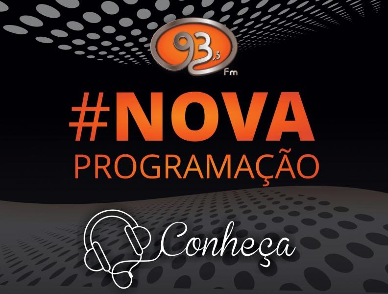 NOVA PROGRAMAÇÃO 93FM
