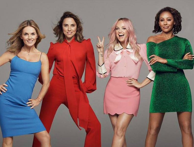 Spice Girls estão de volta!