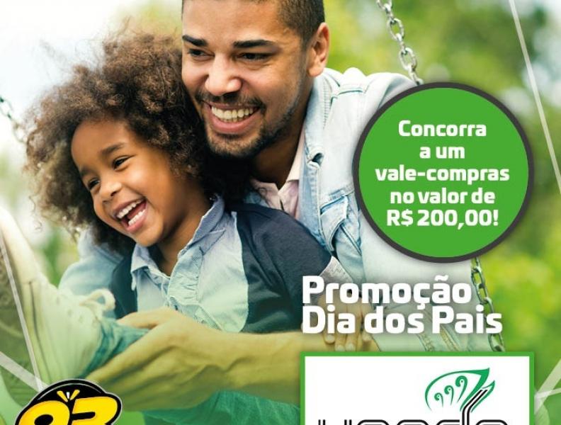 PROMOÇÃO DIA DOS PAIS 93 FM E VANDA MODAS